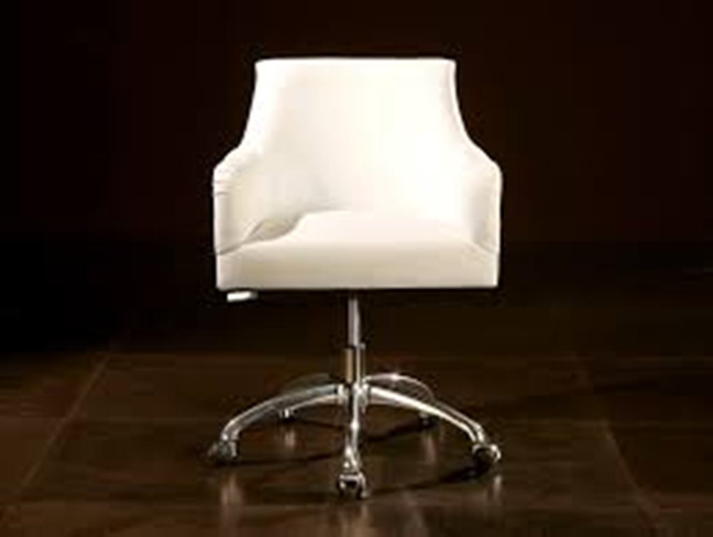 Image of: upholstered office chair with arms and legs