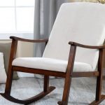 upholstered rocking chair nursery