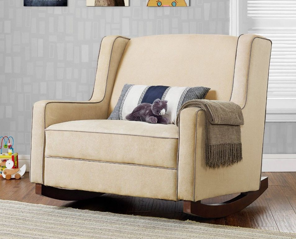 Image of: upholstered rocking chair sale