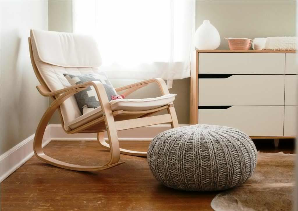 Image of: upholstered rocking chair styles