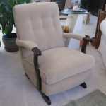 upholstered rocking chair for adults