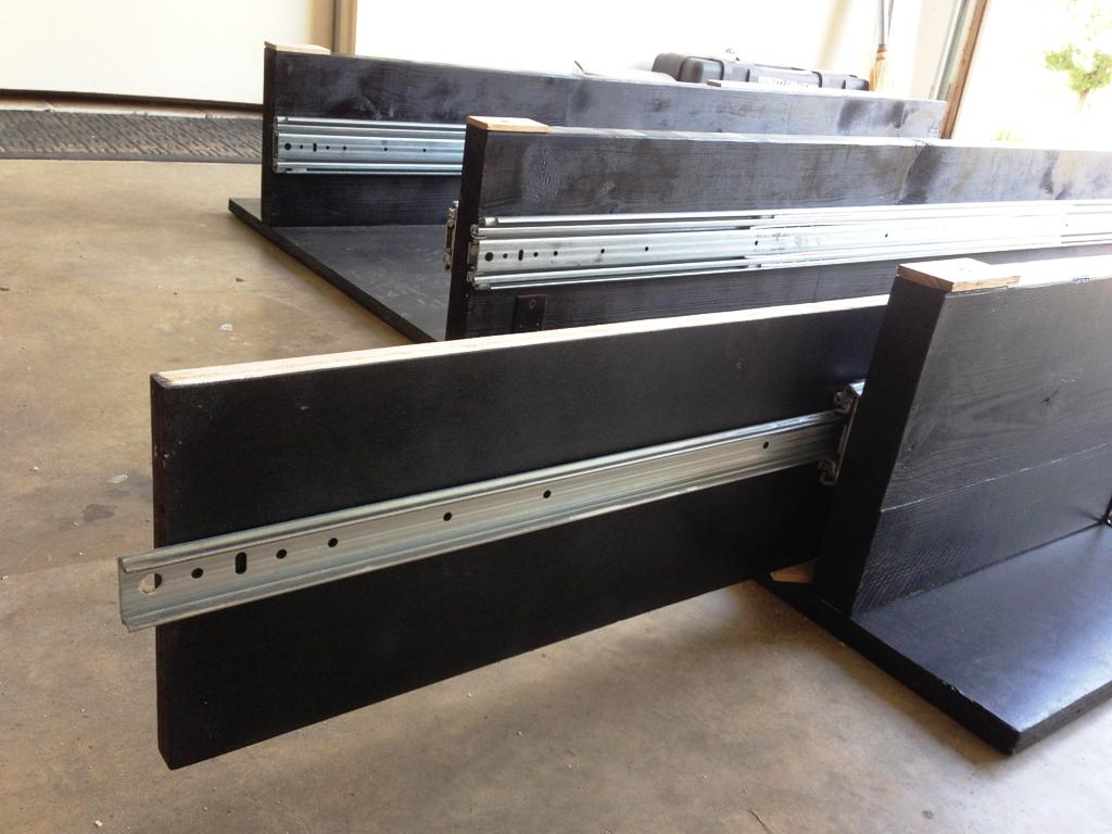 Image of: Used Truck Bed Storage Drawers