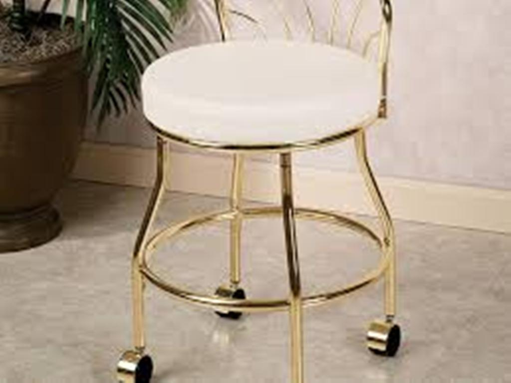 Image of: vanity chair for bathroom image