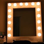 Vanity Mirror with Light Bulbs Banned