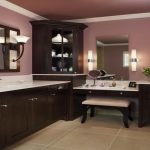 Vanity Set with Lighted Mirror Pictures