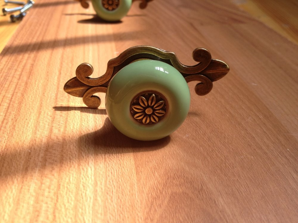 Vintage Bronze Door Knobs