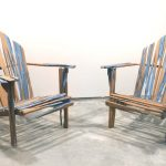 vintage wooden adirondack chairs