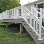 Vinyl Deck Railing Stair