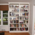 Wall Built In Bookcase Plans