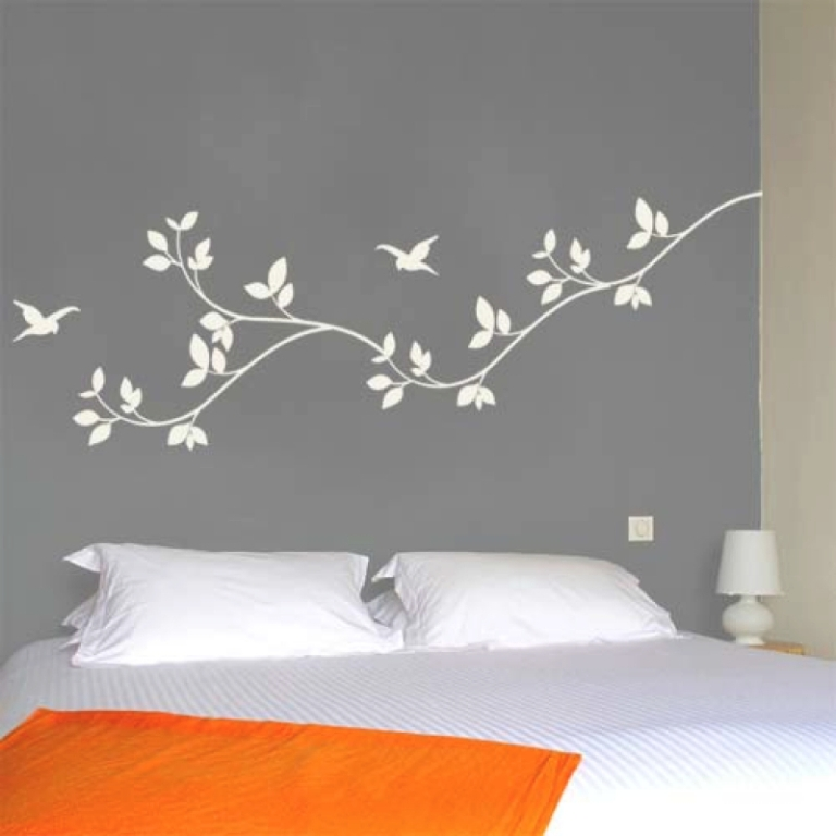 Image of: Cool Bedroom Wall Decals And Wall Stickers For Bedrooms