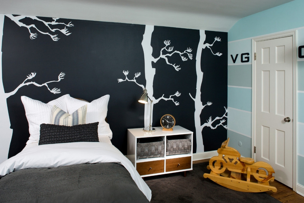 Image of: Wall Decals For Bedroom Quotes