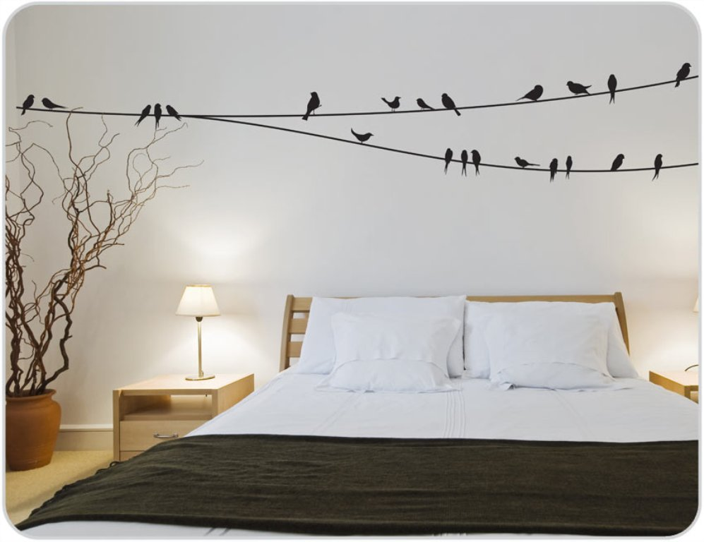 Image of: Wall Decals For Bedroom Uk