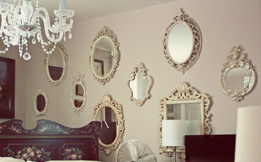 Image of: Wall Mirror Decor in Any Shapes