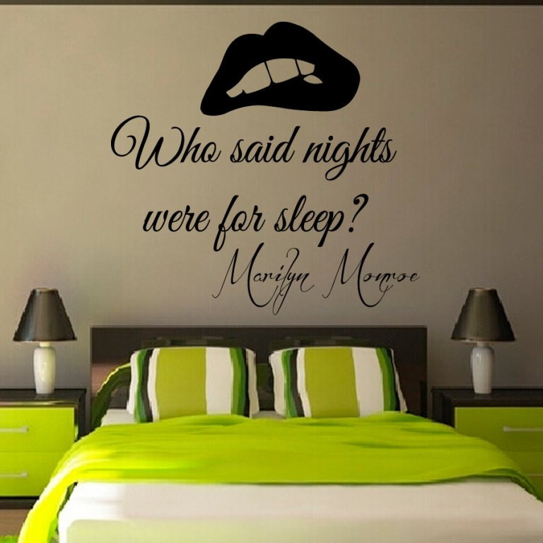 Image of: Wall Stickers For Bedrooms Girls
