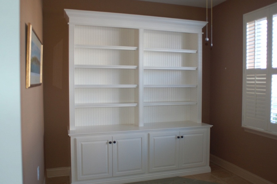 Image of: Wall Unit Bookcase Diy