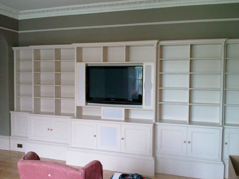 Image of: Wall Unit Bookcase Large