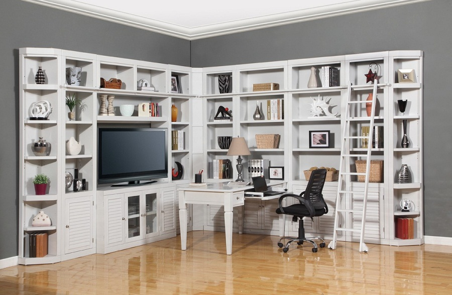 Image of: Wall Unit Bookcase Office