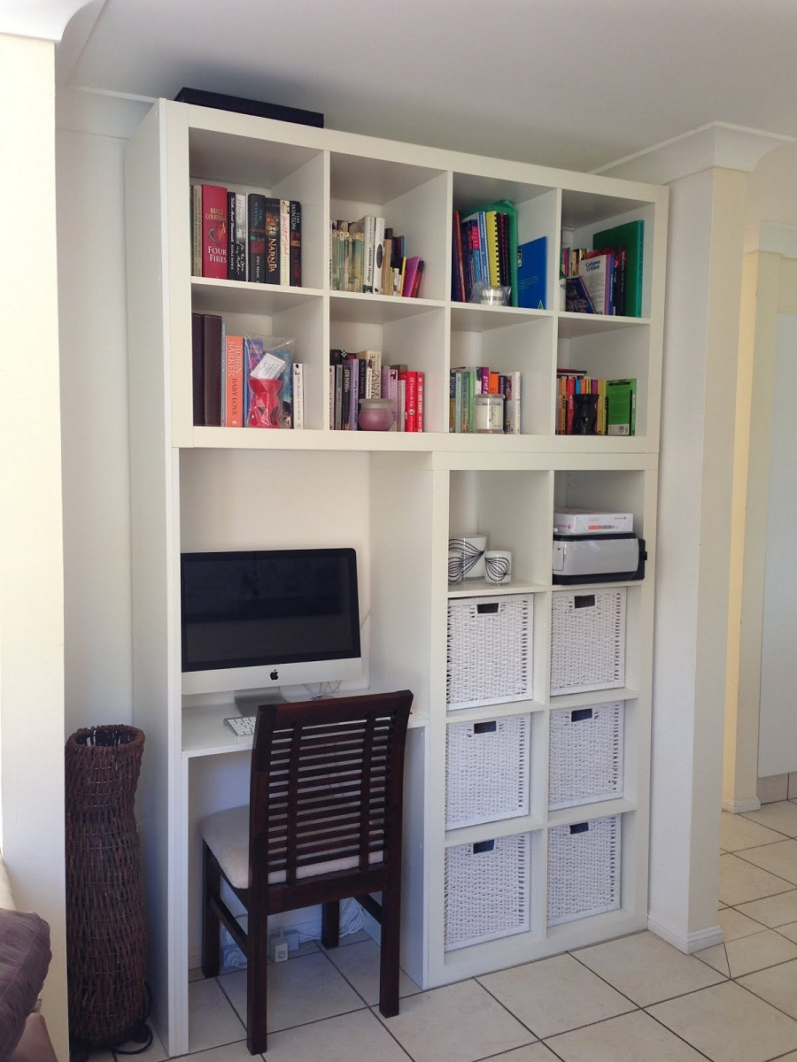 Image of: Wall Unit Bookcase Small