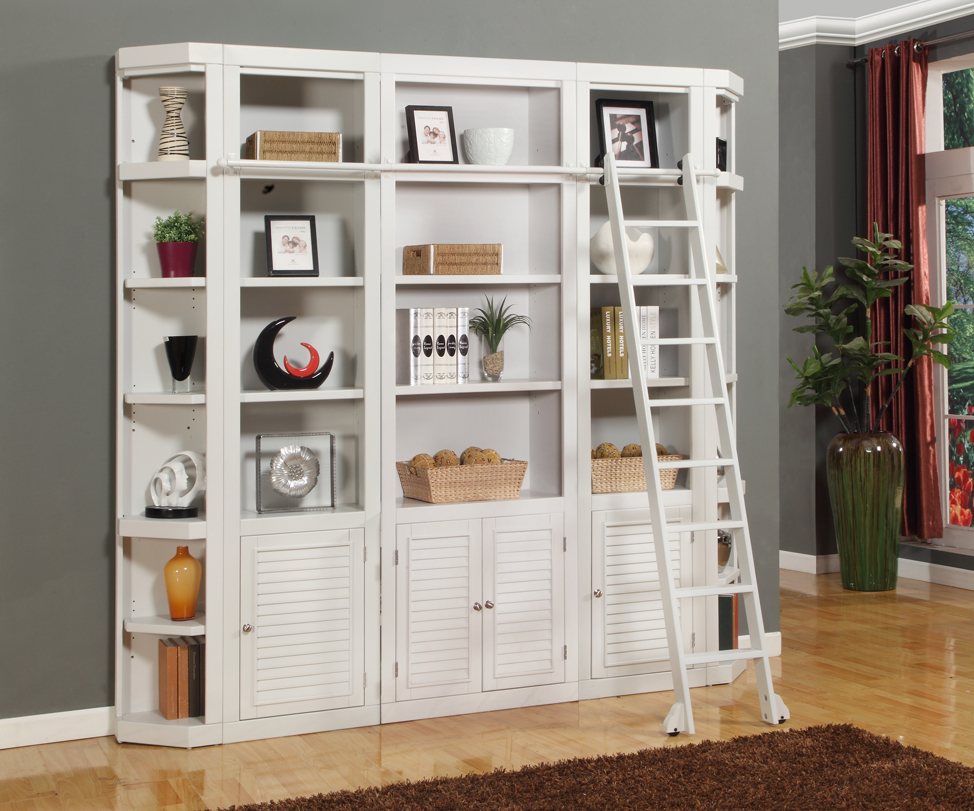 Image of: Wall Unit Bookcase White