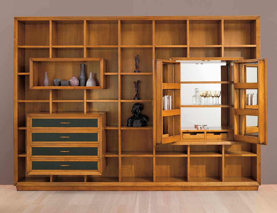 Image of: Wall Unit Bookcase Wood