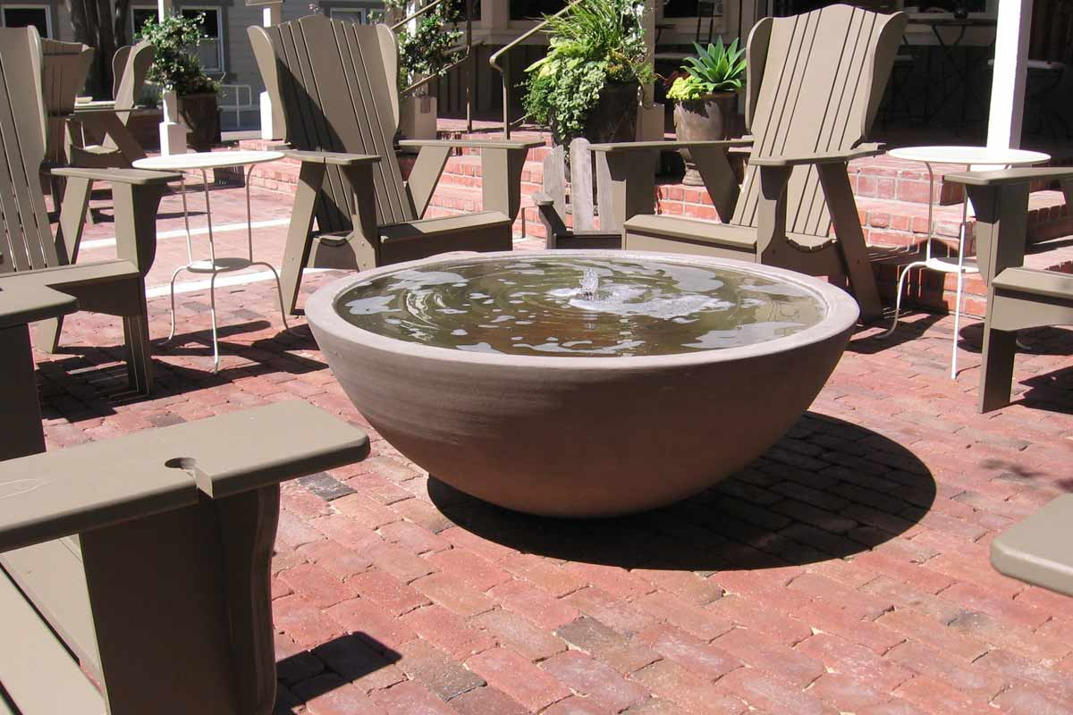 Image of: Water Fountain Pots Kit