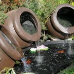 Water Fountain Pots Planter