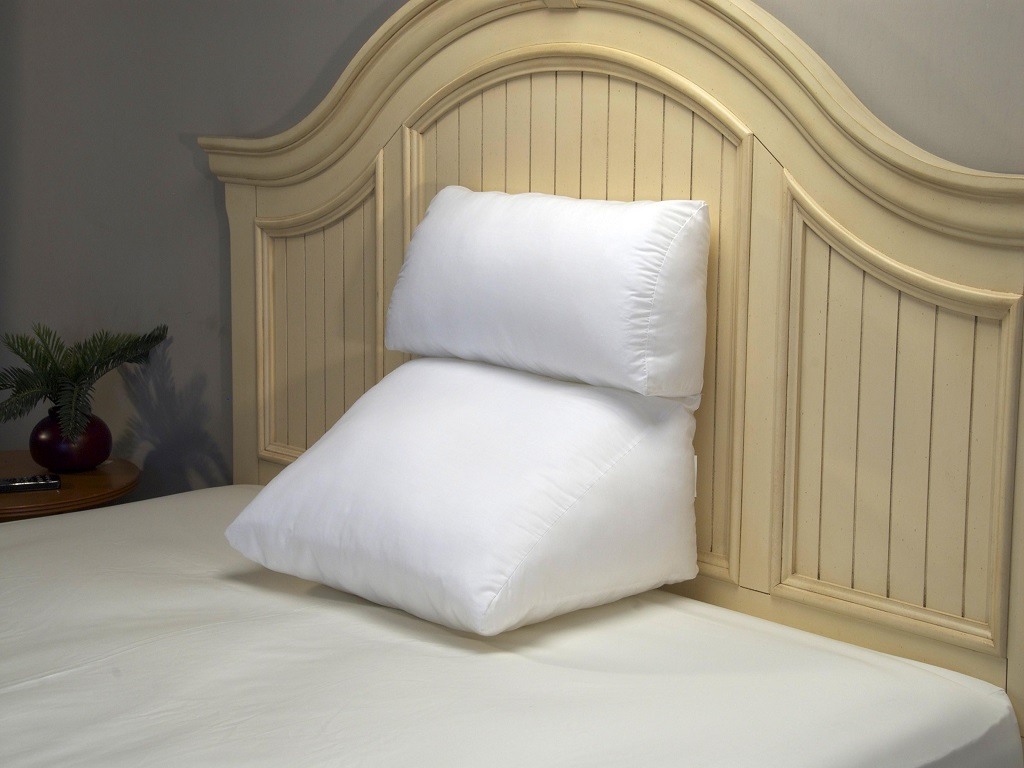 Image of: Wedge Bed Pillow Acid Reflux