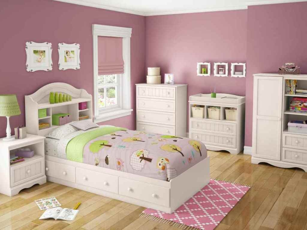 Image of: White Bedroom Furniture For Teenage Girl