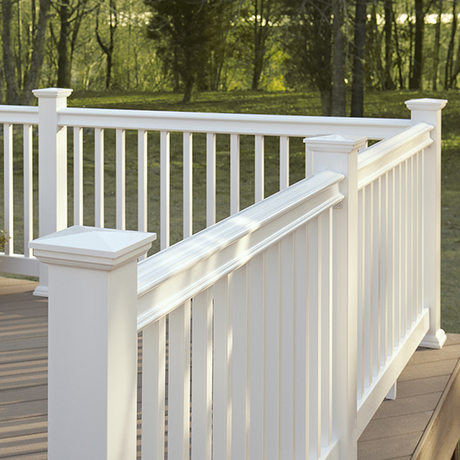 Image of: White Deck Skirting Material