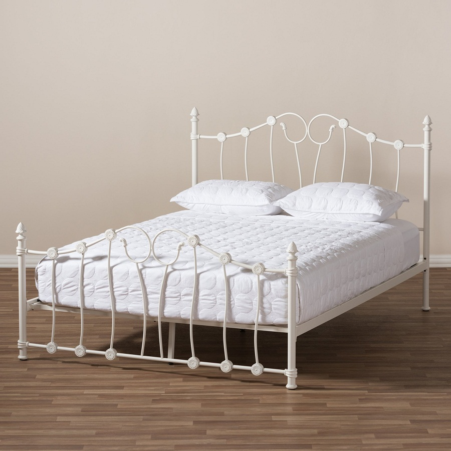 Image of: White Gabriela Bedroom Set