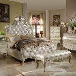 White Mirrored Bedroom Furniture Sets