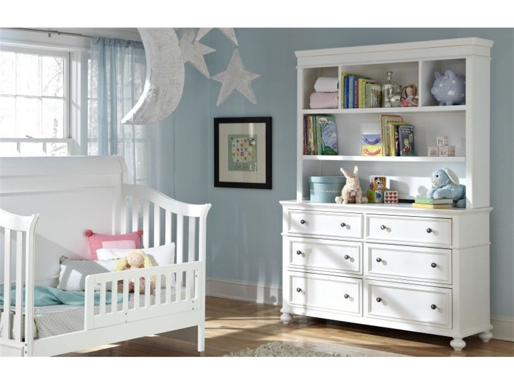 White Nursery Bookcase