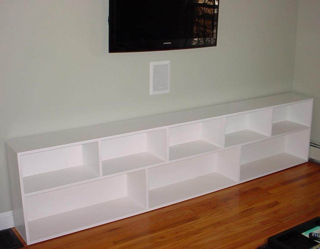 Image of: White Short Bookcase