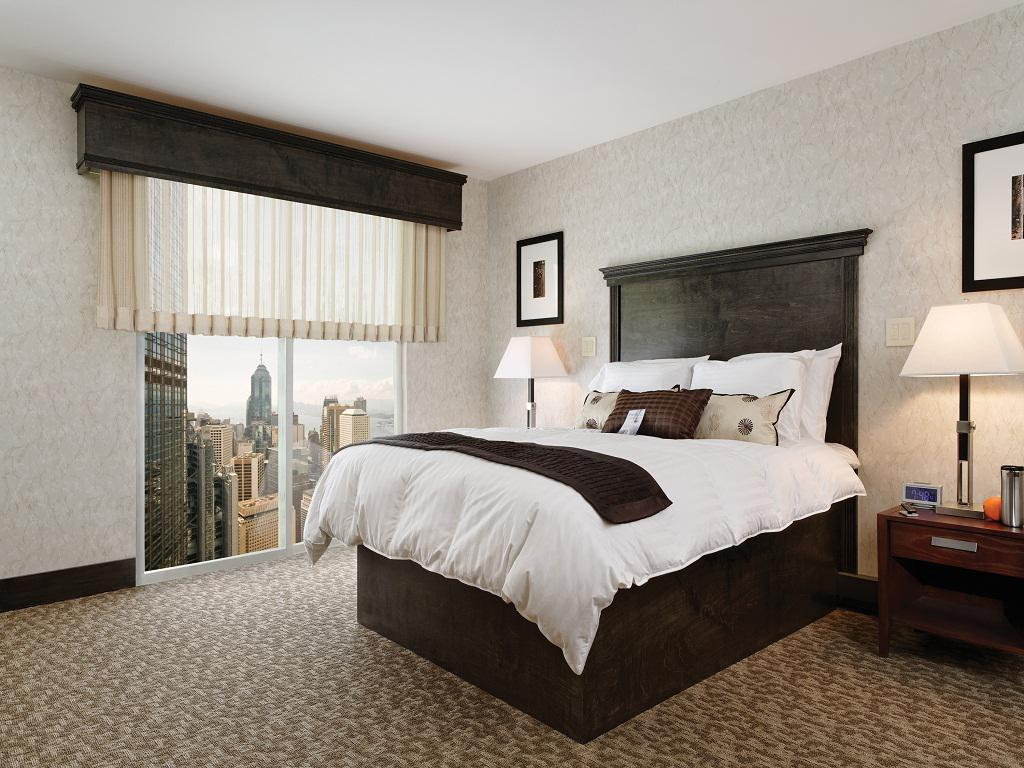 Image of: Window Treatment Ideas for Bedroom Designs