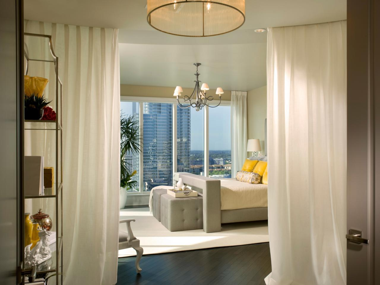 Image of: Window Treatment Ideas for Master Bedroom
