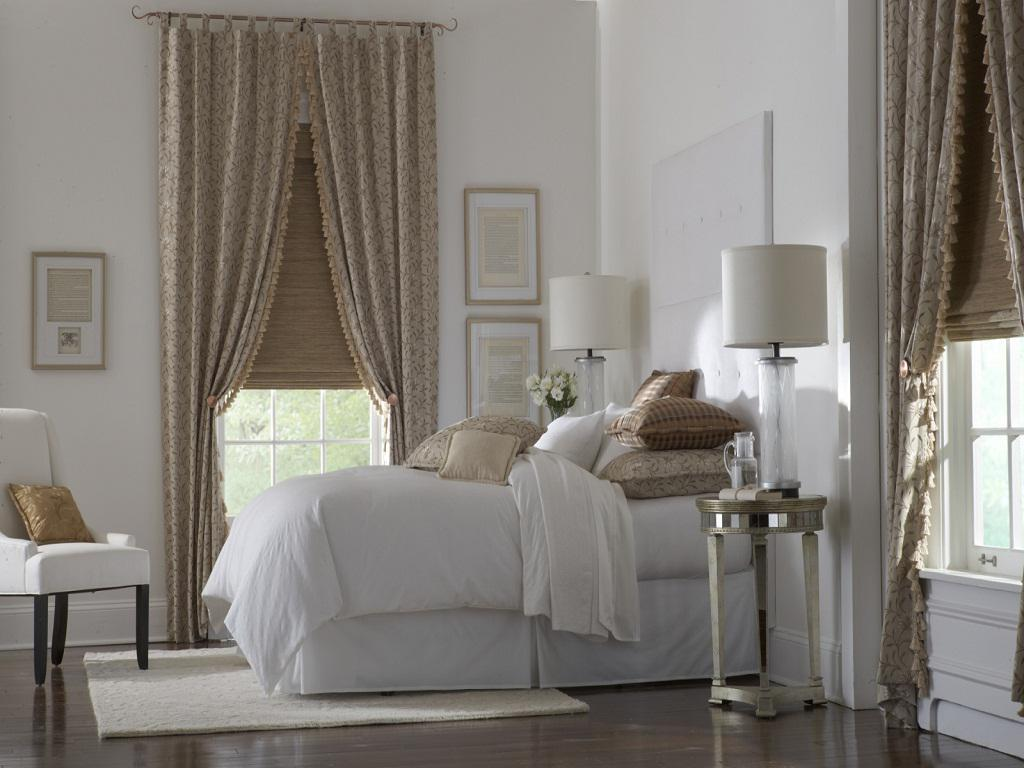 Image of: Window Treatment Ideas for a Bedrooms