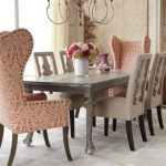 wingback dining chair pads