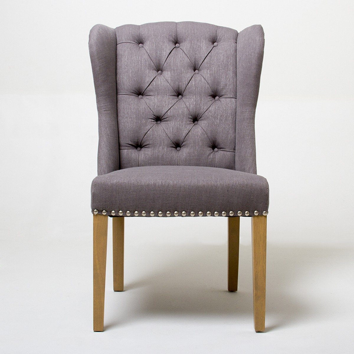 Image of: Wingback Dining Chair Slipcover