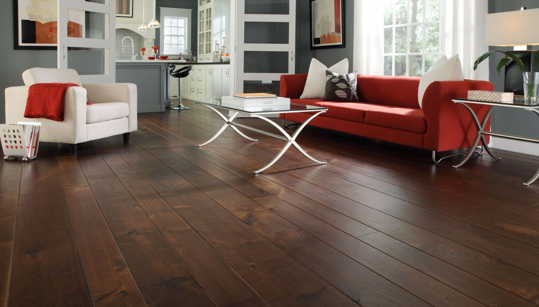 wonderful dark hardwood floors