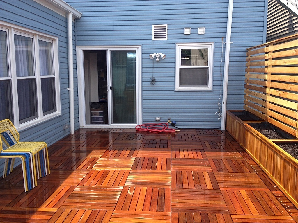 Wonderful Ironwood Decking