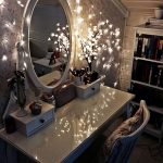 Wonderful Mirrored Vanity Table