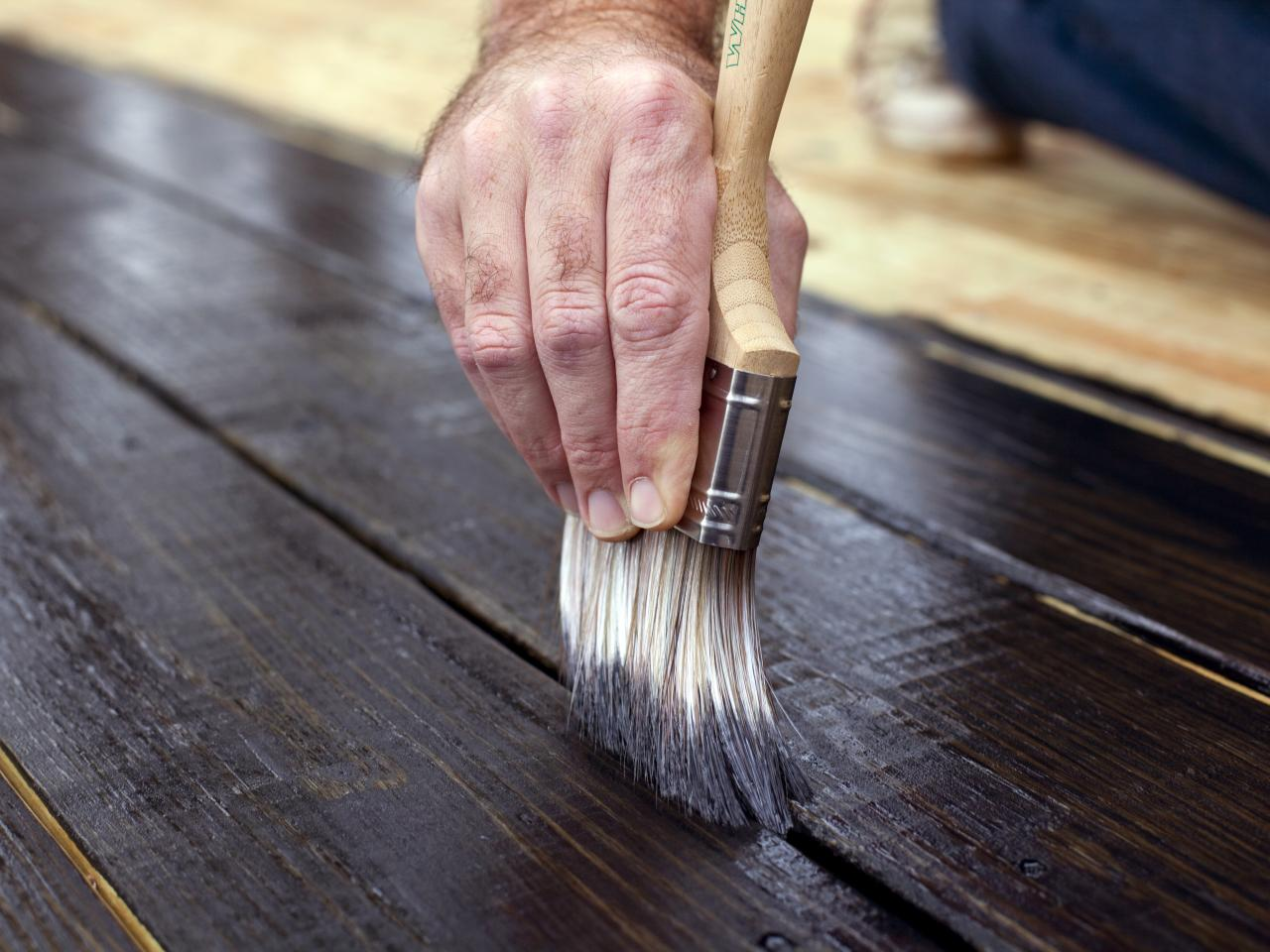 Image of: Wood Deck Stain Alternatives