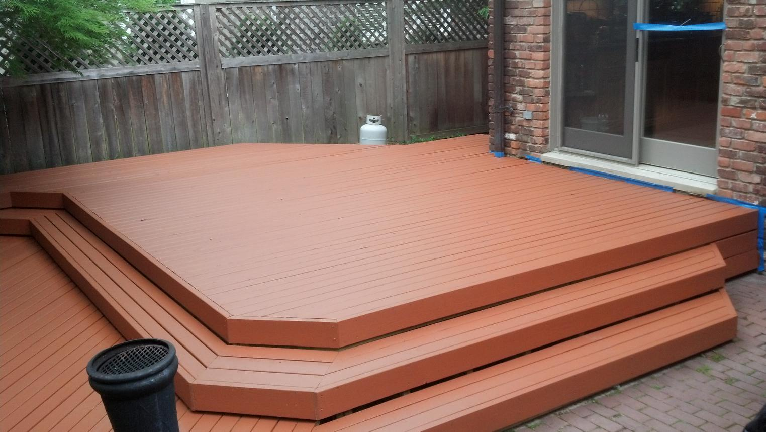Image of: Wood Deck Stain Colors