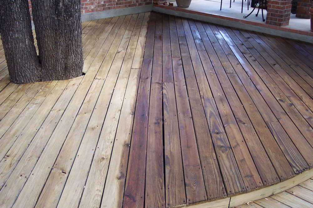 Image of: Unique Wood Deck Stain Reviews Design