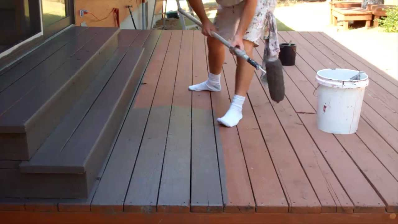 Image of: Wood Deck Stain Sealer