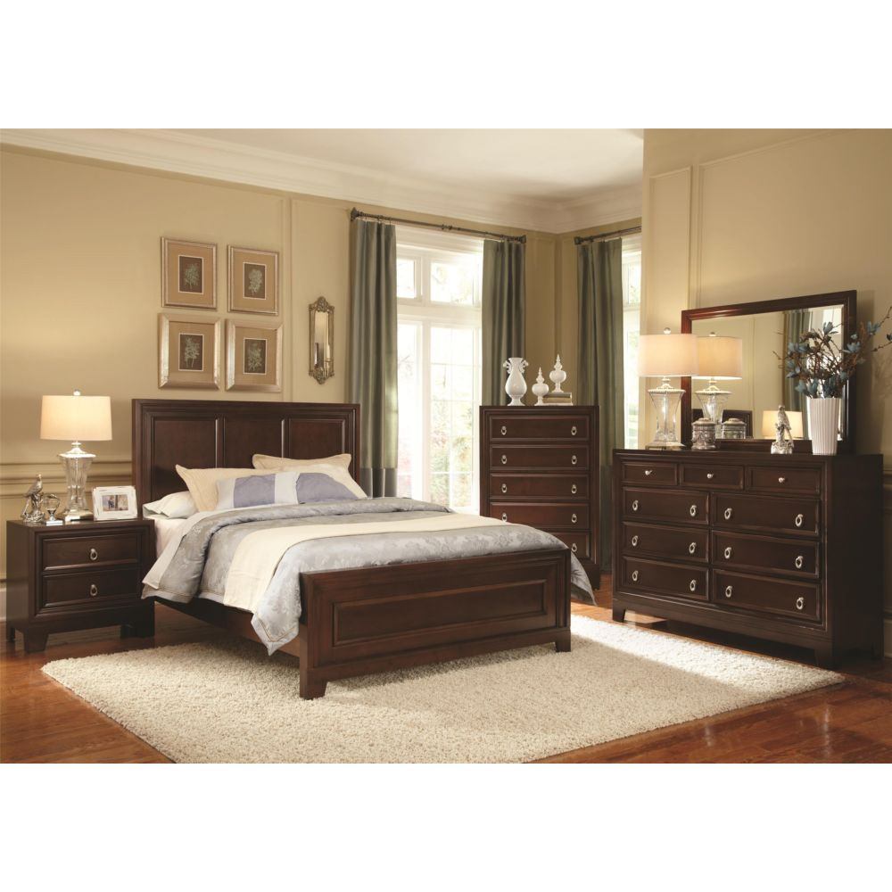 Image of: Wood El Dorado Bedroom Sets