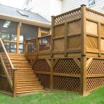 Wood Front Deck Ideas