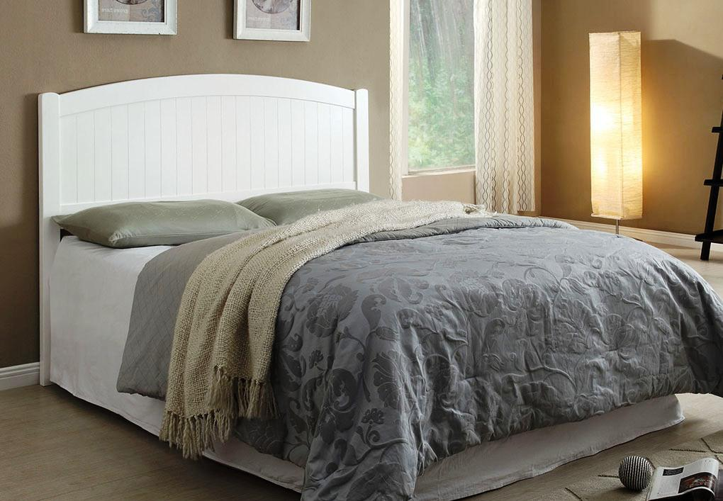 Image of: Wood Headboard Queen