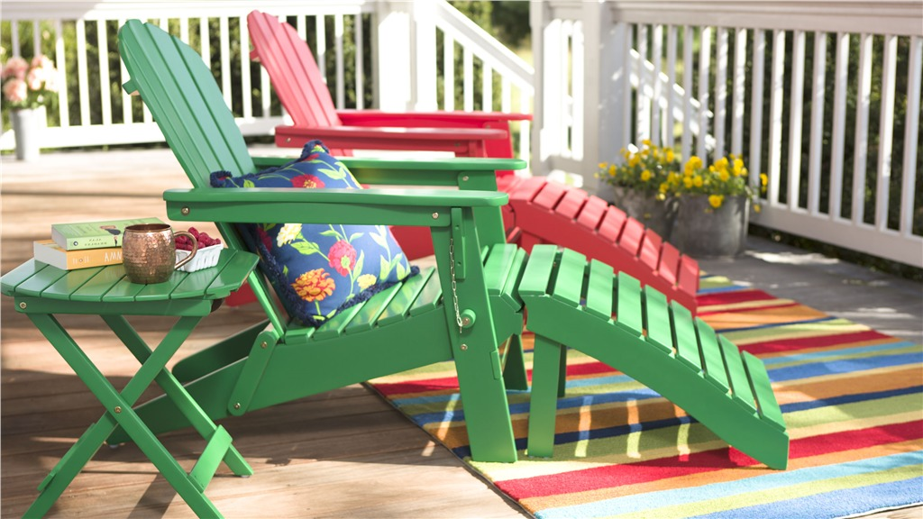 Image of: wooden adirondack chairs model