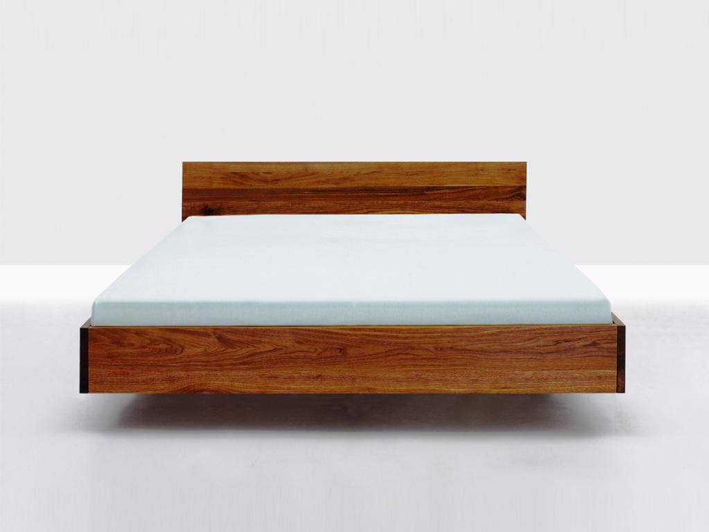 Image of: Wooden Bed Frame Ikea
